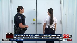 Junior Police Academy training