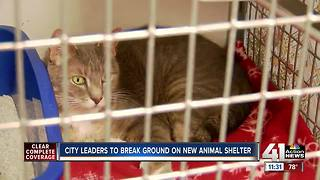 City leaders to break ground on new animal shelter - Video