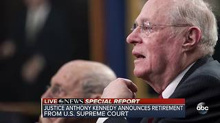 SPECIAL REPORT | Supreme Court Justice Anthony Kennedy announces retirement - Video