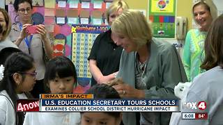 Betsy DeVos visits Collier County schools - Video