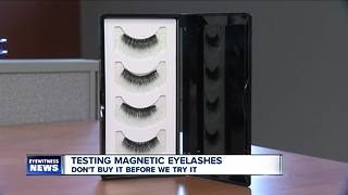 Don't Buy It Before We Try It: Magnetic Eyelashes - Video