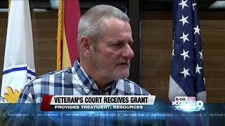 Tucson Veteran's Court receives federal grant - Video