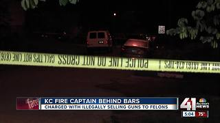 KC fire captain charged with illegally selling guns