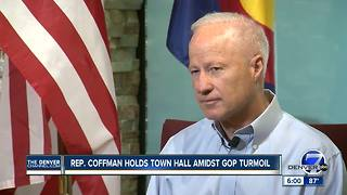 Rep. Coffman hosting town hall Tuesday, talks VA wait times and health care in interview - Video