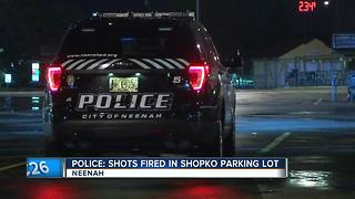 Reports of shots fired outside of Shopko store in Neenah - Video