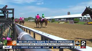 Maryland Delegate Pat McDonough wants to bring Preakness to Baltimore County - Video