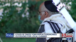 COVID-19 takes Yom Kippur ceremonies outdoors for local chabad