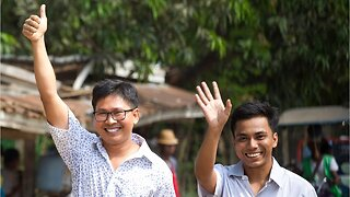 Reuters journalists freed from Myanmar prison after 500 Days
