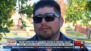 Bakersfield farmer and water official hoping President Trump addresses water issues