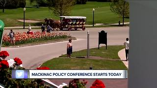 Mackinac Policy Conference begins at Grand Hotel - Video