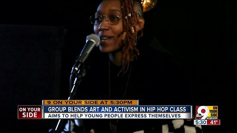 'Artivist' group Triiibe offers Hip Hop 101, with no cussing allowed