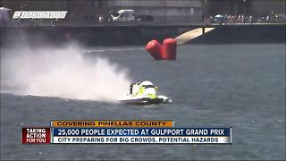 Gulfport hosts first ever Formula 1 Boat Race - Video