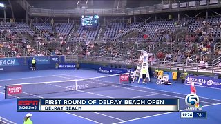 First Round of the 2019 Delray Open