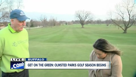 Learn from a golf pro at Delaware Park