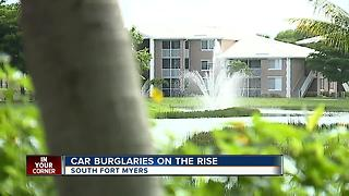 Deputies investigating car break-ins in South Fort Myers Community - Video