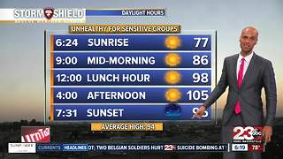 Excessive Heat Warning in effect! - Video
