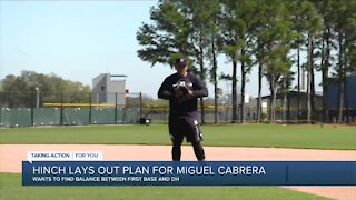 Hinch discusses plans for Miguel Cabrera