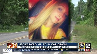 18-year-old woman killed in car crash in Lothian