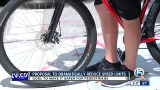 Proposal to dramatically reduce speed limits - Video