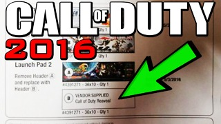 Call of Duty 2016 reveal date leaked - Video