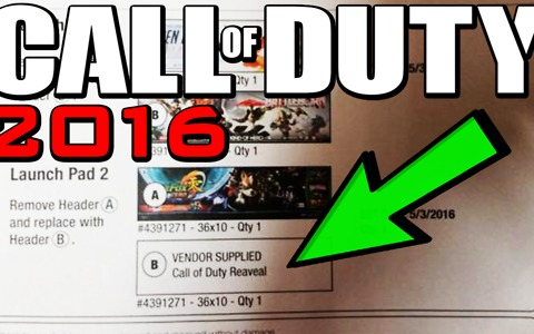 Call of Duty 2016 reveal date leaked
