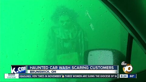 Haunted car wash scaring customers in Ohio
