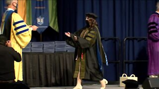 26-year-old mother graduates with doctor of pharmacy at Concordia University