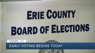 Early voting begins in NYS