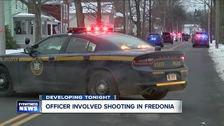 Police: suspect dead after officer-involved shooting in Fredonia - Video