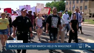 Peaceful protests across Green Country on Thursday