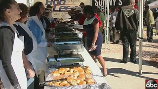 Meal for the community in Clearwater - Video