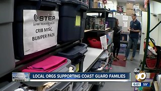 Local orgs help Coast Guard families amid Shutdown