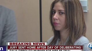 Dalia Dippolito: Jury sent home after day of deliberations - Video