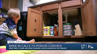 Spike in Calls to Poison Control in Oklahoma