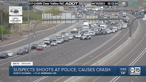 Phoenix PD situation near I-17 and Greenway Road