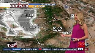 A warming trend over the weekend will bring worsening air quality - Video