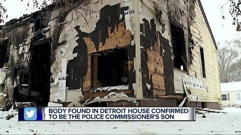 Body found in Detroit house confirmed to the police commissioner's son