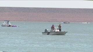 Search for missing swimmer continues at Chatfield Reservoir