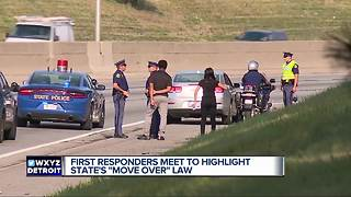 Drivers urged to obey law after Michigan trooper struck 11 different times - Video