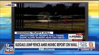 Illegal Immigrants Caught Crossing Border During MSNBC Segment - Video