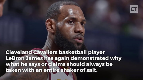 LeBron James: I'm Too Important to Be Quiet