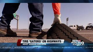 ADOT warns about tire treads on highways as temperature heat up - Video