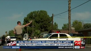 KLEA issues petition to demand public safety