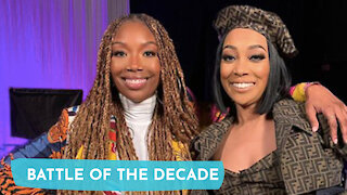 BRANDY and MONICA BREAK THE INTERNET in Verzuz Battle!