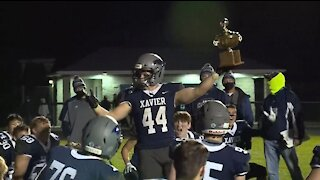WEB EXTRA: Xavier reacts after 54-18 win over rival FVL