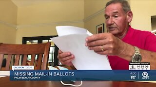 Palm Beach Gardens voter disappointed after requested mail-in ballots never arrive