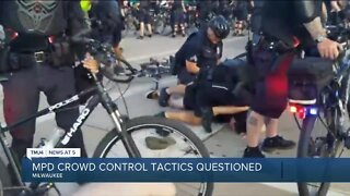 MPD's crowd control tactics questioned