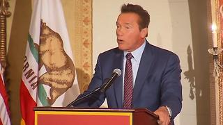 Schwarzenegger On Trump - Video