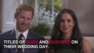 Why Meghan Markle, Like Kate Middleton, Will Never Actually Be a Princess - Video