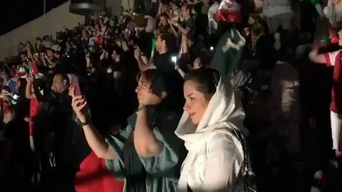 Iranian Women Allowed to Watch World Cup Match in Tehran Stadium